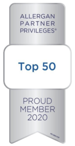 Allergan Top 50 Status For TLC 1